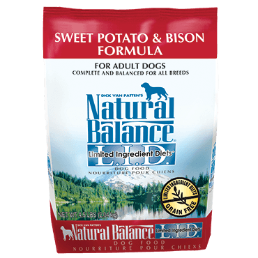 Natural Balance - LID Sweet Potato & Bison