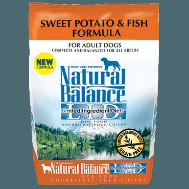 Natural Balance - LID Sweet Potato & Fish