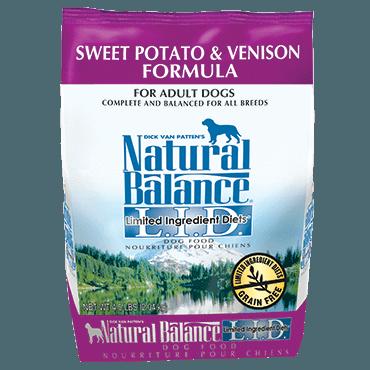 Natural Balance - LID Sweet Potato & Venison