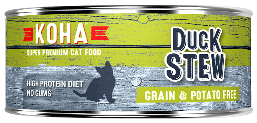 KOHA Canned Cat Food - Duck Stew - 5.5oz