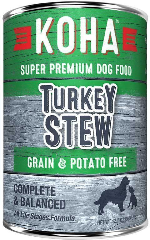 Koha Dog Food - Turkey Stew - 12.7oz
