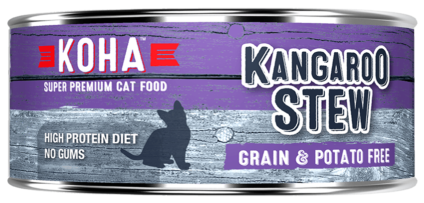 KOHA Canned Cat Food -Kangaroo Stew - 5.5oz