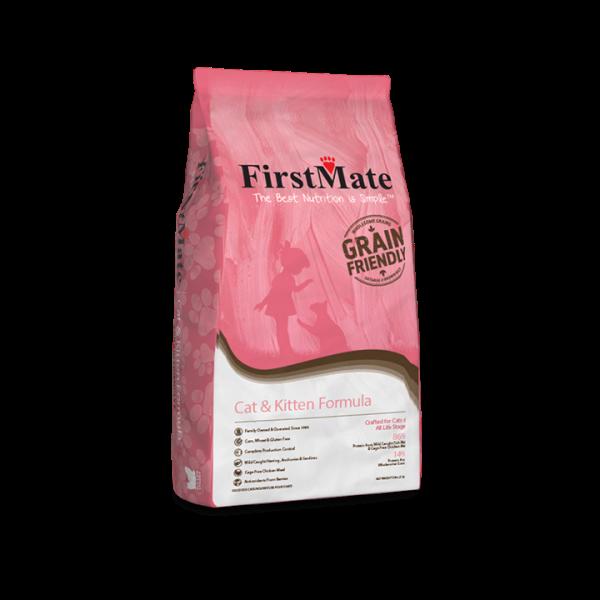 FirstMate Grain-Friendly Cat & Kitten Formula Dry Cat Food