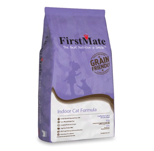 FirstMate Grain Friendly Indoor Cat food