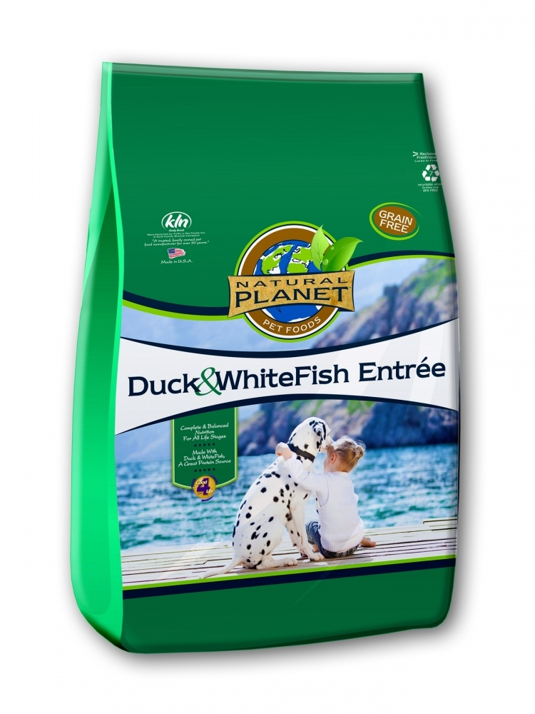 Natural Planet Organics Duck & WhiteFish Entree Dry Dog Food