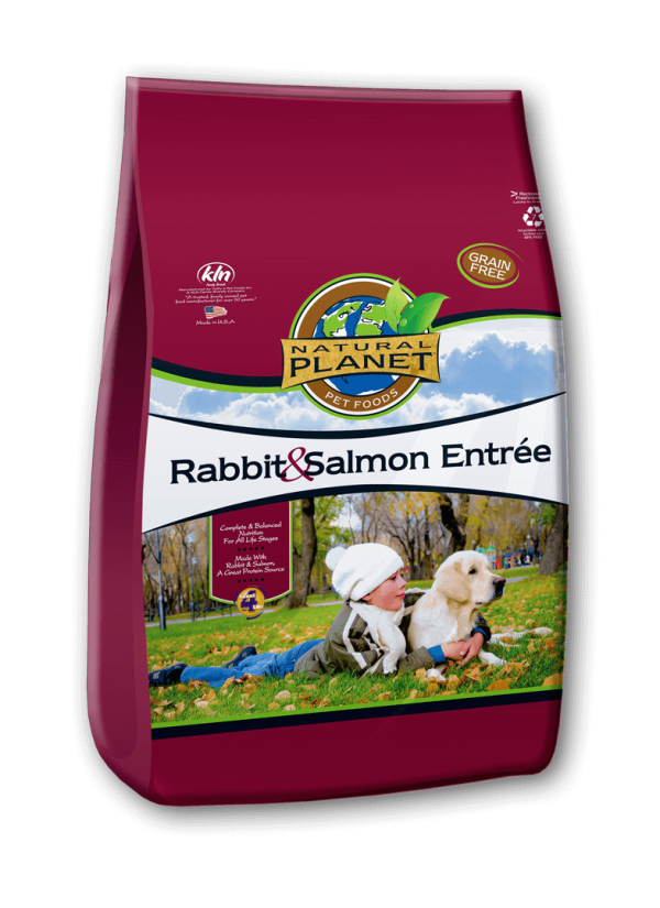 Natural Planet Organics Rabbit & Salmon Entree Dry Dog Food
