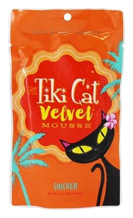 TIKI Cat Velvet Mousse Cat Food Chicken, 2.8-oz