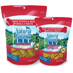 Natural Balance L.I.T. Sweet Potato & Bison Formula Dog Treats