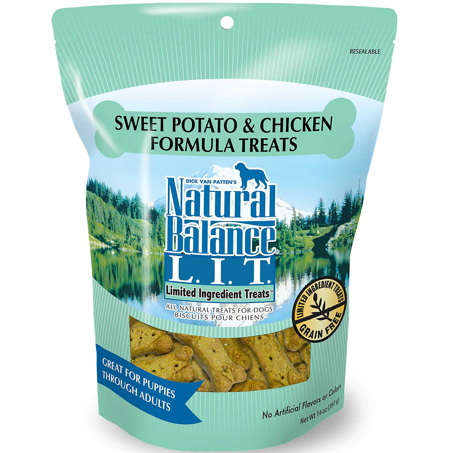 Natural Balance L.I.T. Limited Ingredient Treats Sweet Potato & Chicken Formula