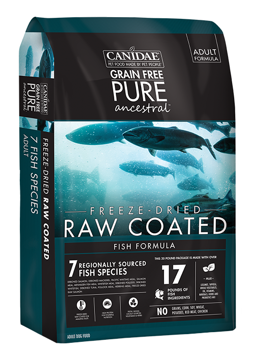 Canidae Grain Free Pure Ancestral Fish Formula With Salmon, Mackerel & Pacific Whiting