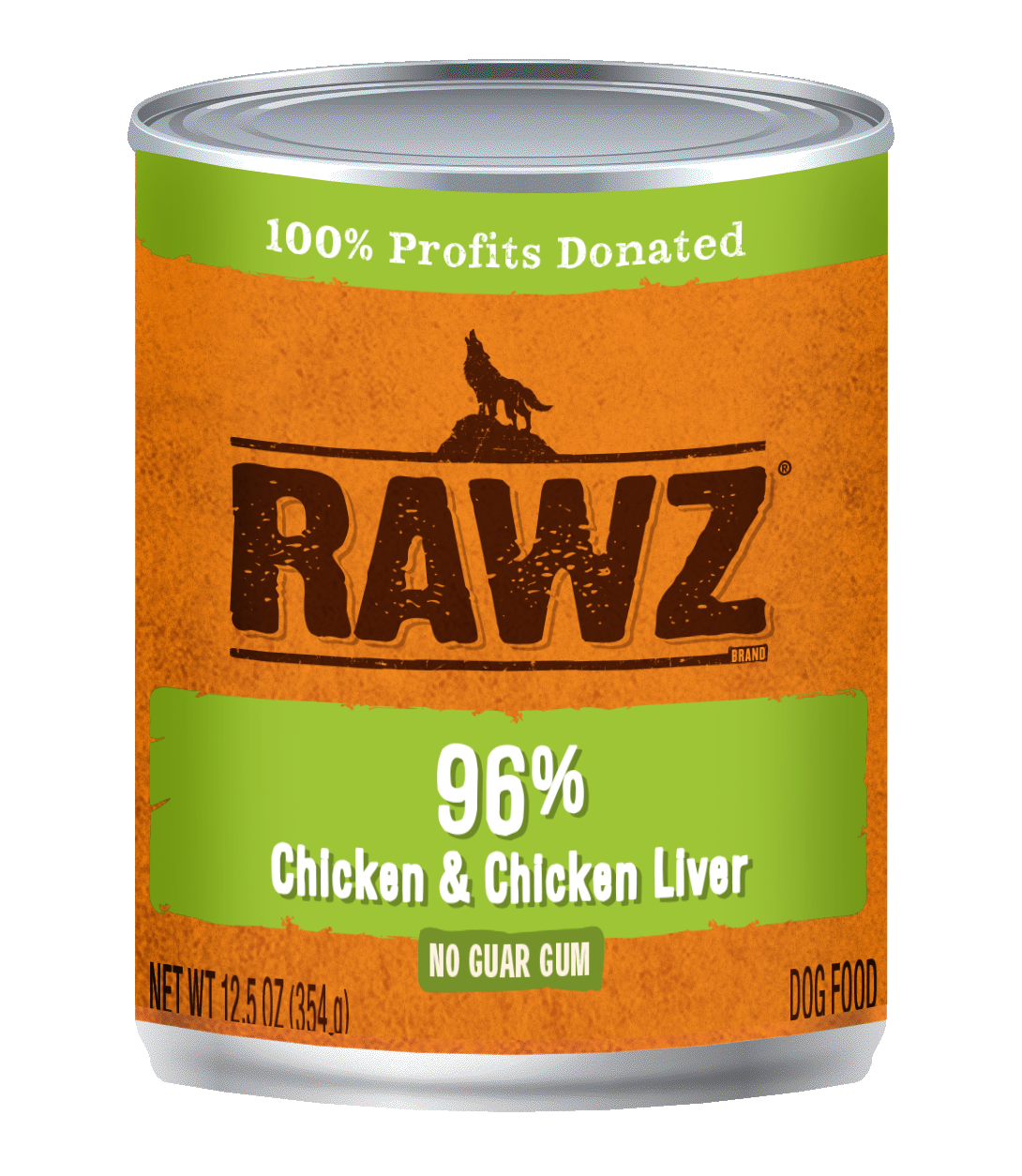 RAWZ Dog 96% Chicken & Chicken Liver