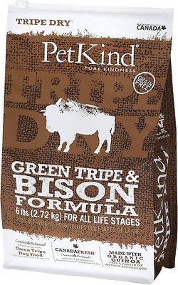 PetKind Tripe Dry Green Tripe & Bison Formula Grain-Free Dry Dog Food