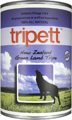 PetKind Tripett New Zealand Green Lamb Tripe Grain-Free Canned Dog Food