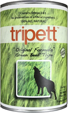 PetKind Tripett Original Formula Green Beef Tripe Grain-Free Canned Dog Food