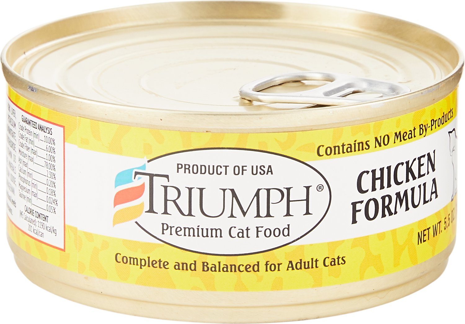 Triumph Chicken Formula Canned Cat Food