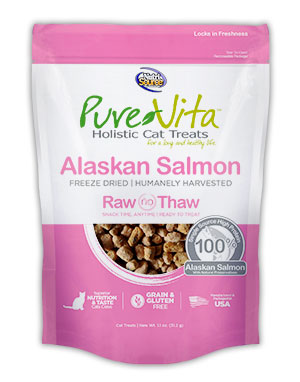 Pure Vita Freeze Dried Delights for Cats Alaskan Salmon 1.1-oz