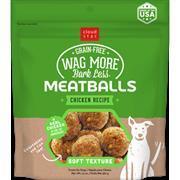Cloud Star Wag More Bark Less Meatballs Chicken 14oz Size: 14-oz