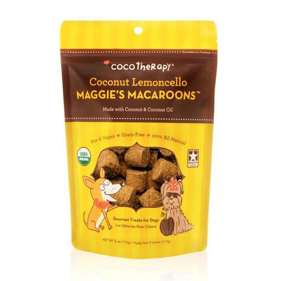 Coco Therapy Maggie's Macaroons Coconut Lemoncello, 4oz bag