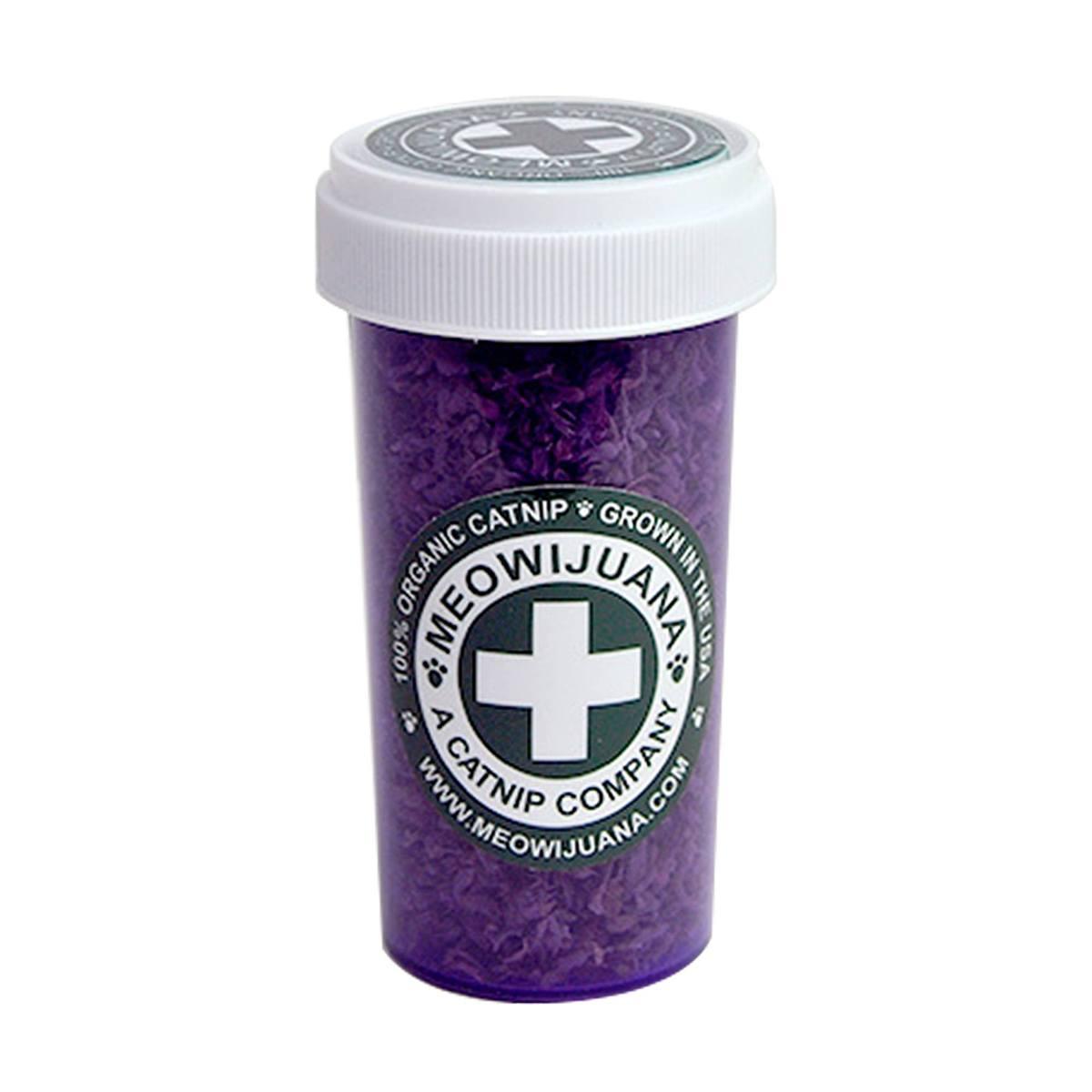 Meowijuana Purrple Passion - Silvervine and Catnip Blend
