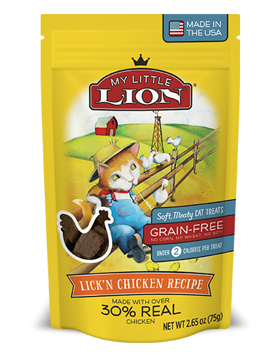 My Little Lion Lick'n Chicken Recipe Cat Treats