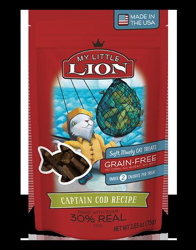 My Little Lion Captain Cod Recipe Cat Treats