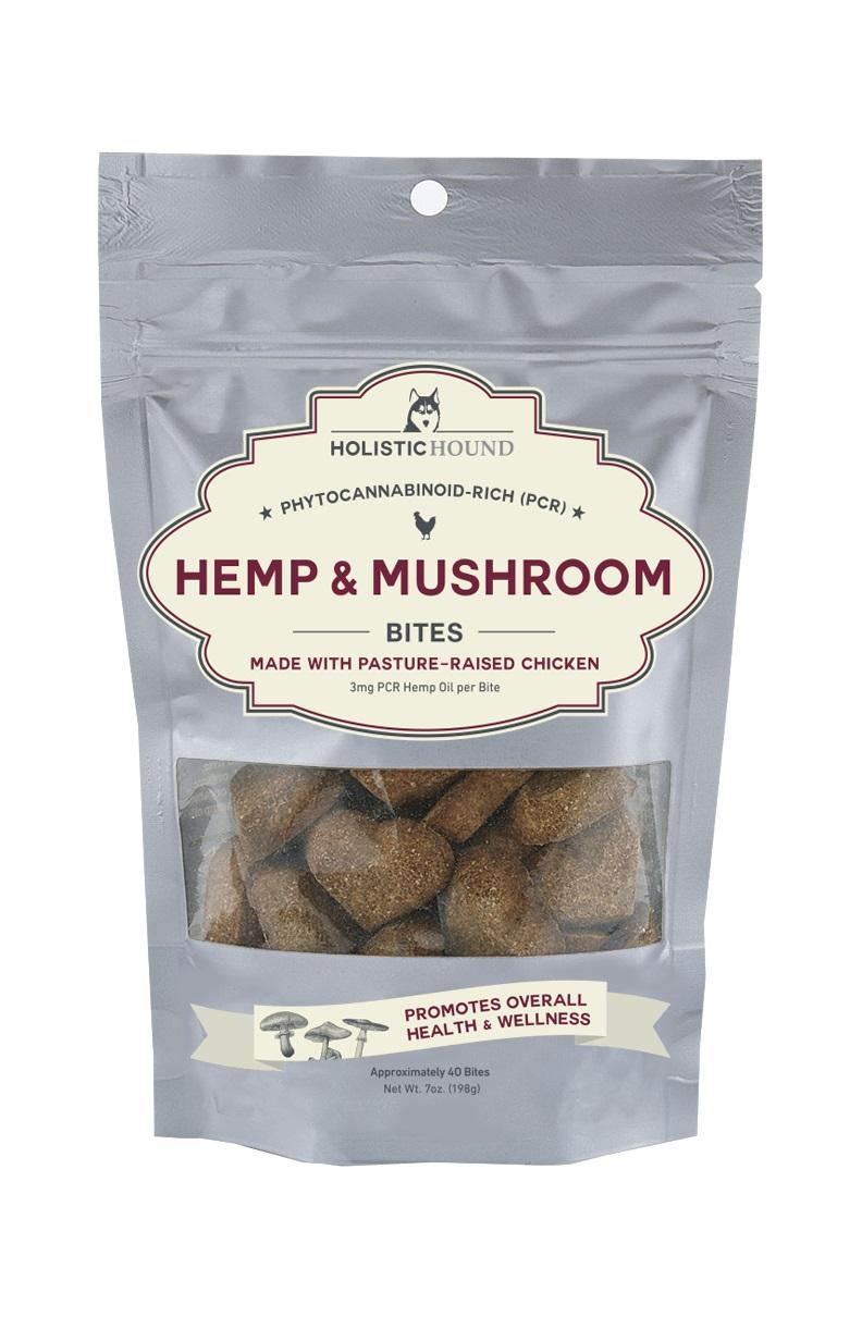 Holistic Hound Chicken 3 mg & Mushroom Bites