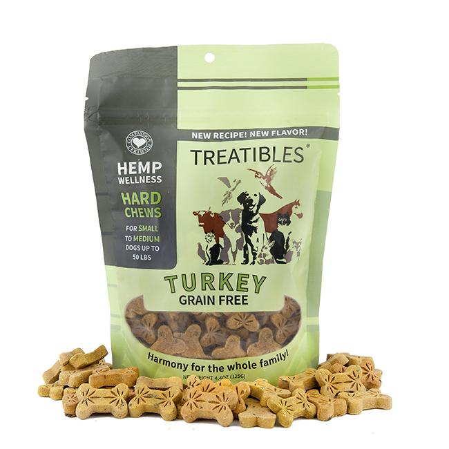 Treatibles Small Turkey 1 Mg Grain Free Chews