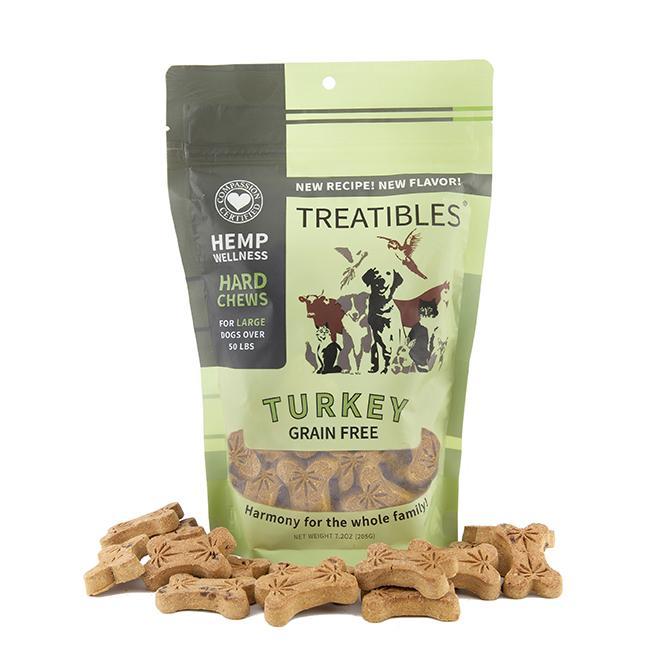 Treatibles Large Turkey 4 Mg Grain Free Chews