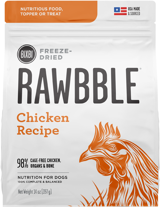 Rawbble Freeze Dried Food Chicken Recipe