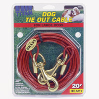 Coastal Pet 30' Heavy Tie Out Cable, Heavy up to 80-lbs