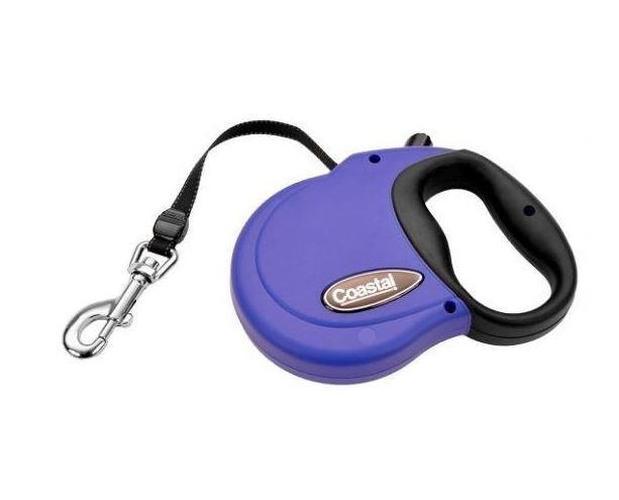 Power Walker Retractable Dog Leash Blue