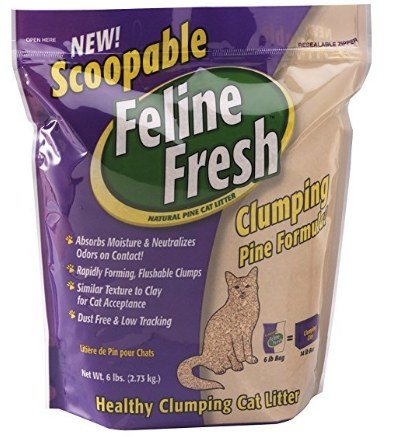 Feline Fresh Clumping Pine Cat Litter