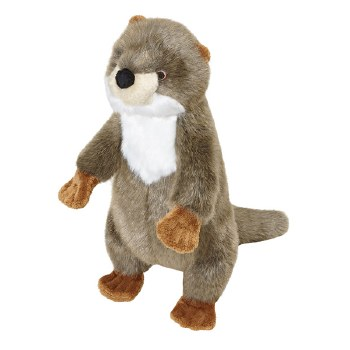 Fluff & Tuff Otter Harry Dog Toy, 15-in