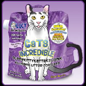 Cats Incredible SuperKittyKattakalizmik Klumping Litter 25lbs Size: 25-lbs
