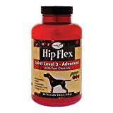 Naturvet Hip Flex + Tart Cherry Tablets for Dogs, 40-count