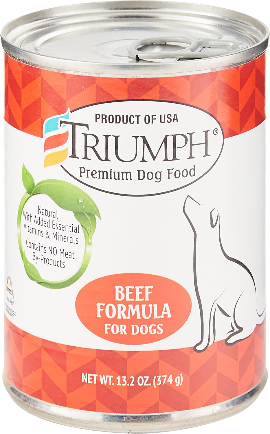 Triumph Beef Formula Canned Dog Food