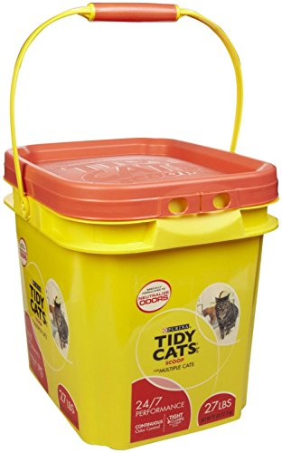 Tidy Cats Clumping Cat Litter 24/7 Performance, 27-lbs