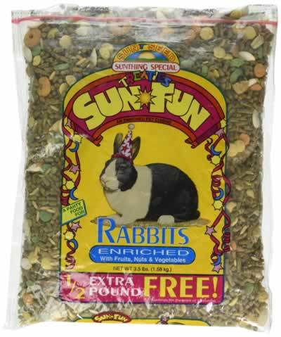 SunSeed Sun Fun Rabbit Food, 3.5lbs