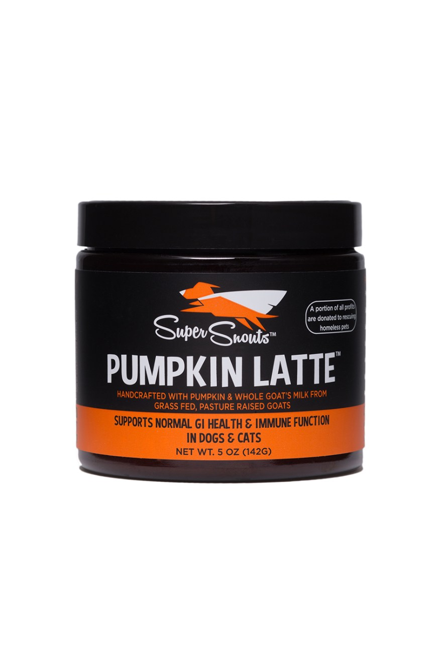 Super Snouts Pumpkin Latte G.I. Health & Immune Support Dog & Cat Supplement, 10-oz