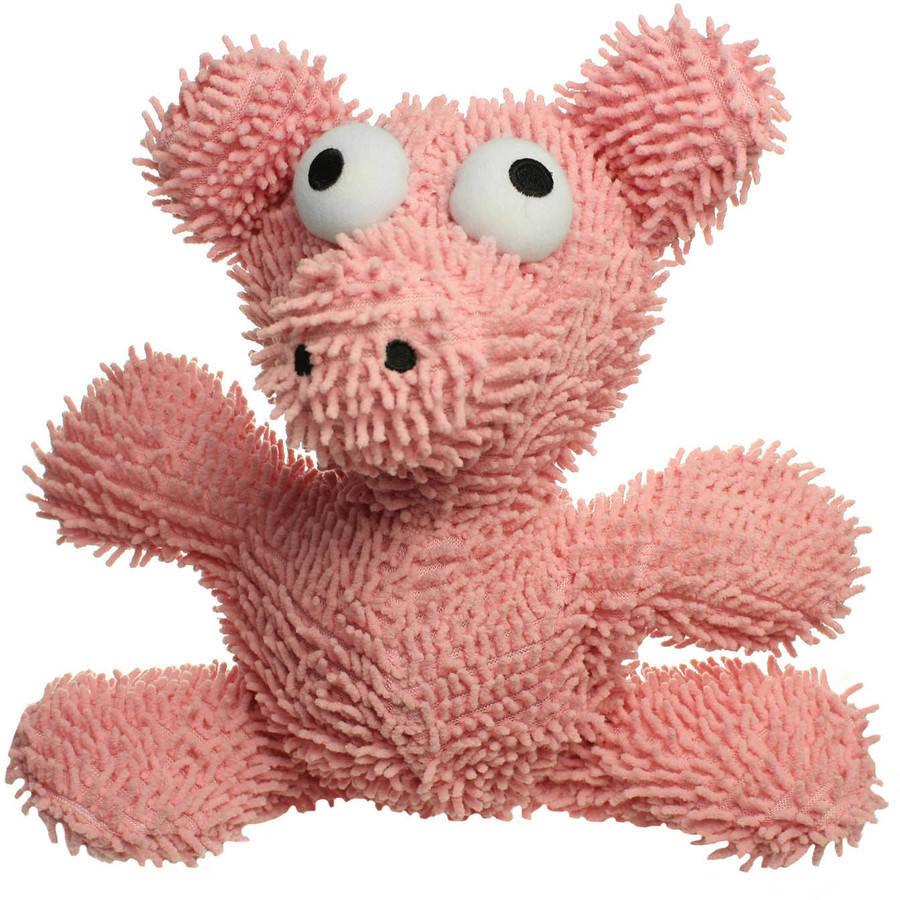 Tuffy's Microfiber Pig Dog Toy