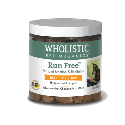 Wholistic Pet Run Free Soft Chews