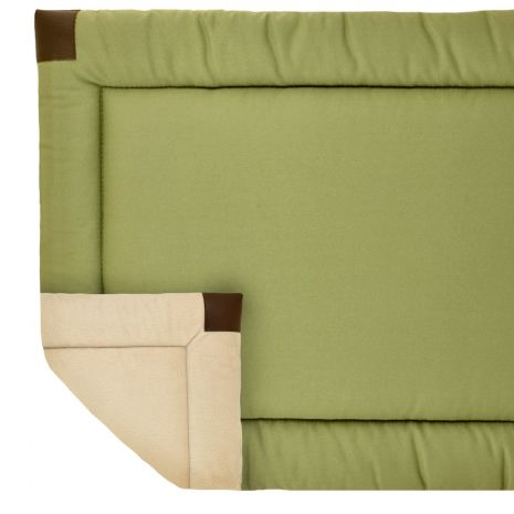 Tall Tails Velboa Bed, Sage, 36x23