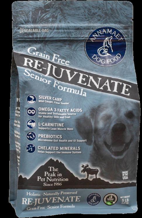 Annamaet Grain-Free Re-Juvenate Senior Dry Food Formula for Dogs