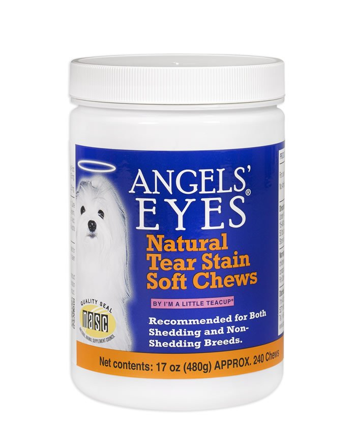 Angels' Eyes Chicken Flavored Natural Soft Chews for Dogs & Cats -  120ct