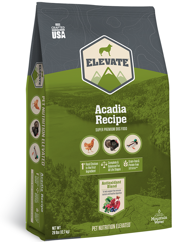 Elevate Acadia Fowl Recipe Super Premium Grain-Free Dry Dog Food