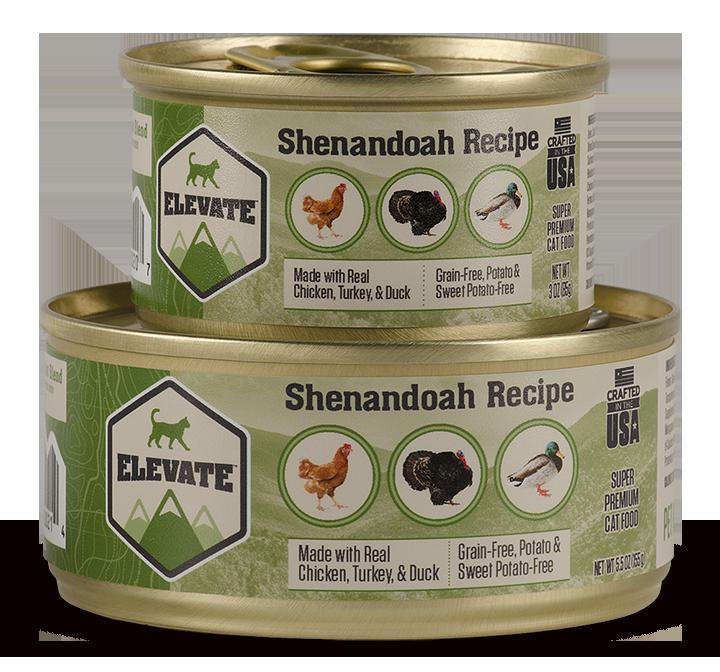 Elevate Shenandoah Fowl Recipe Super Premium Wet Cat Food