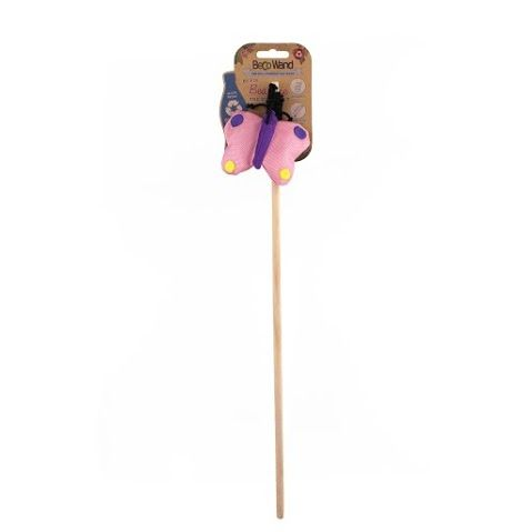 Beco Catnip Butterfly Wand Cat Toy