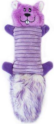 ZippyPaws Zingy No Stuffing 3 Squeaker Plush Dog Toy