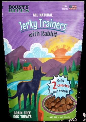 Bounty Bites Rabbit Jerky Training Treats 4-oz