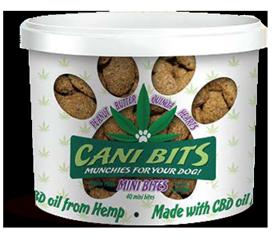 Cani Bits Peanut Butter with Quinoa Dog Treats, 4-oz